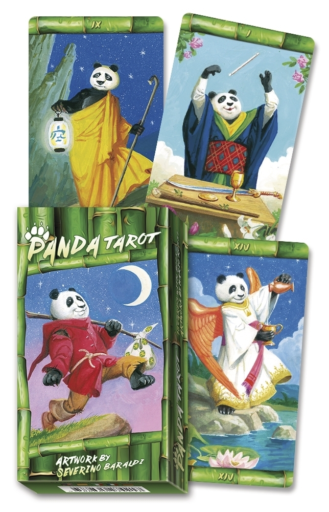 Book Cover: Panda Tarot