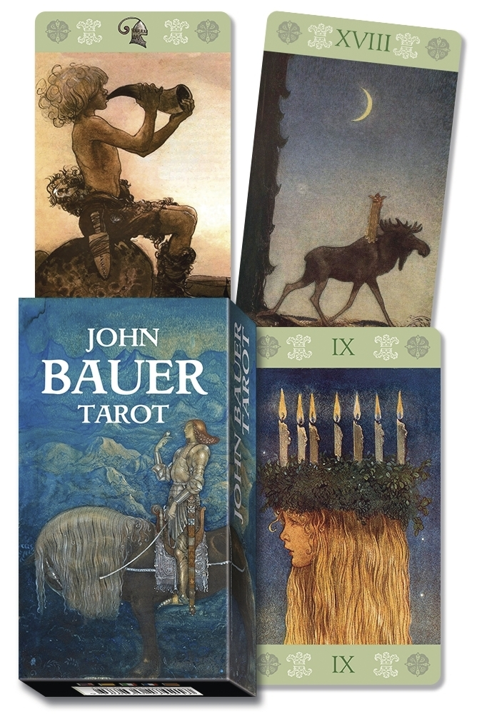 Book Cover: John Bauer Tarot