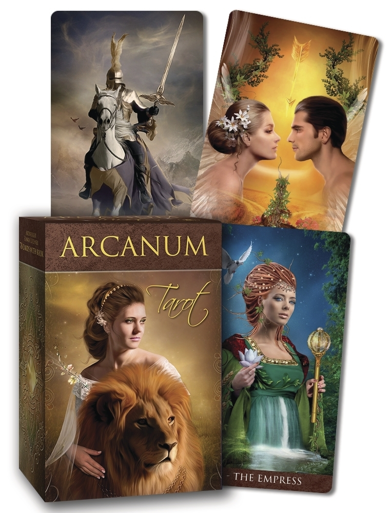 Book Cover: Arcanum Tarot