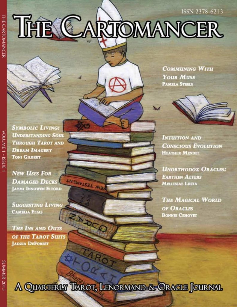Book Cover: The Cartomancer, Vol. 1, issue 1