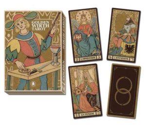 Book Cover: Golden Wirth Tarot Grand Trumps