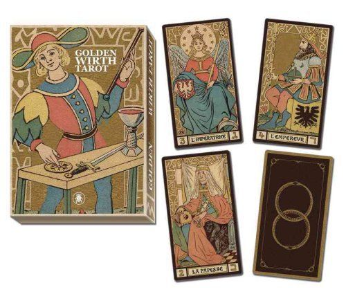 Book Cover: Golden Wirth Tarot Grand Trumps
