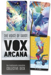 Promo material for the Vox Arcana tarot deck