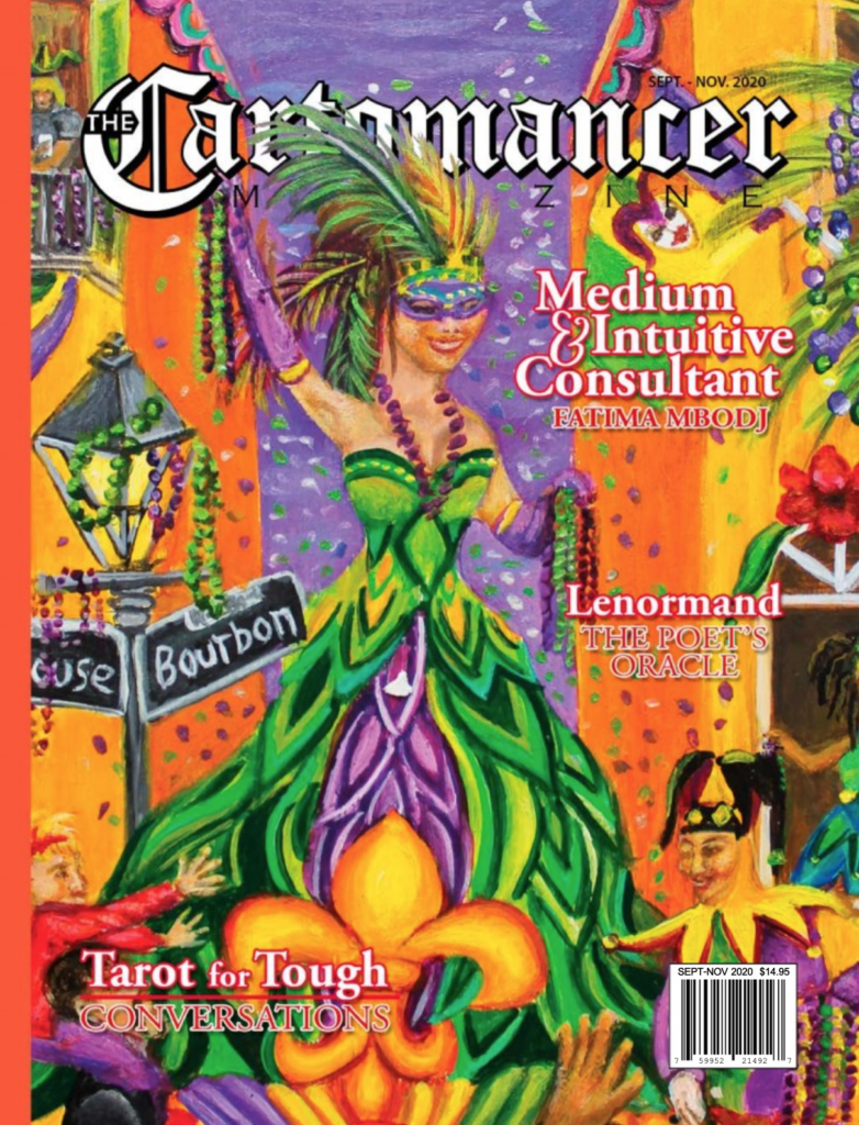Book Cover: The Cartomancer September 2020 Issue