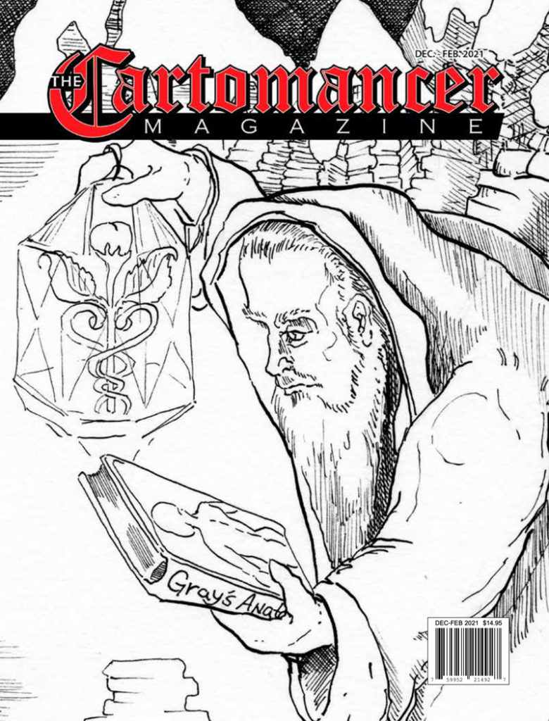 Cover Art for The Winter issue of The Cartomancer Magazine