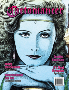 Cover for the June 2021 issue of The Cartomancer.
