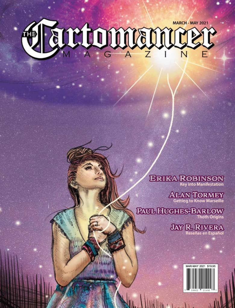 Cover art for March 2021 Cartomancer Magazine