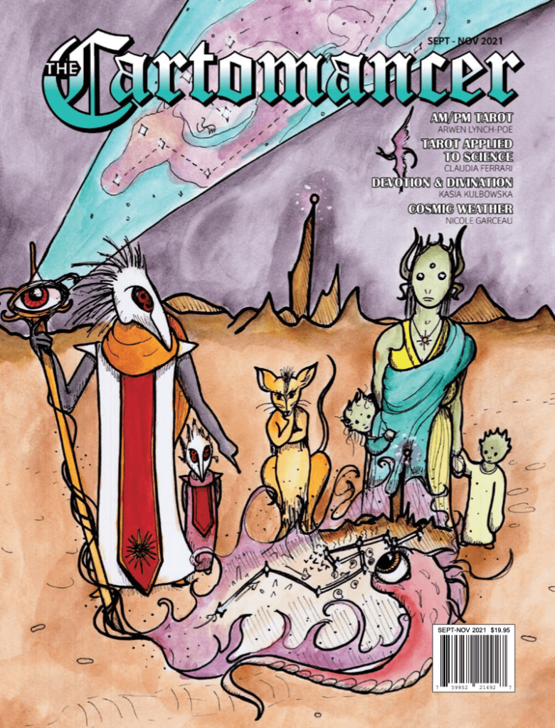 Cover image for the September 2021 issue of The Cartomancer