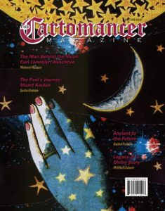 Cover image for the December 2021 issue of The Cartomancer